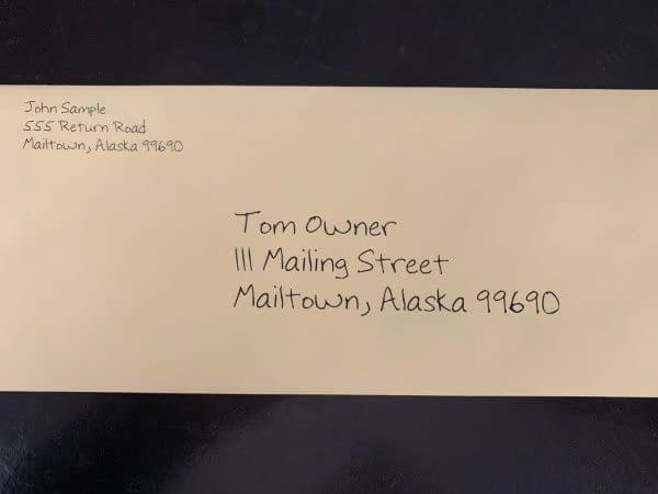 Best Envelope For Yellow Letters