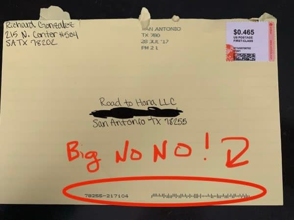 What Envelope To Use For Yellow Letters